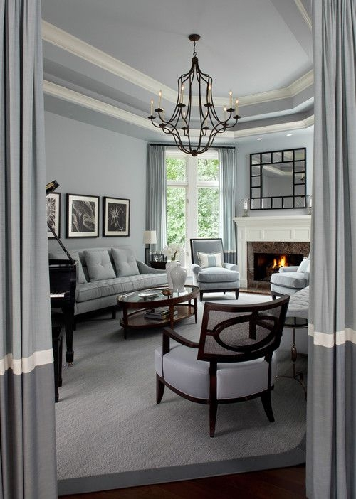 10 Gray Rooms Inspiration Part 2 – Pursuit Of Functional Home