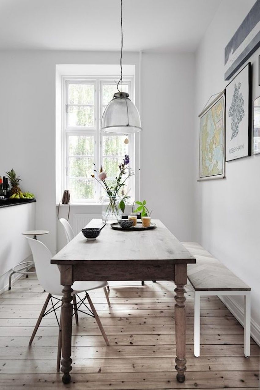 10 Narrow Dining Tables For A Small Dining Room  Modern Dining Tables