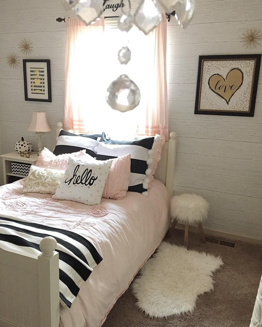 12 Fun Girl'S Bedroom Decor Ideas  Cute Room Decorating For Girls Tags A Girl Room Decoration