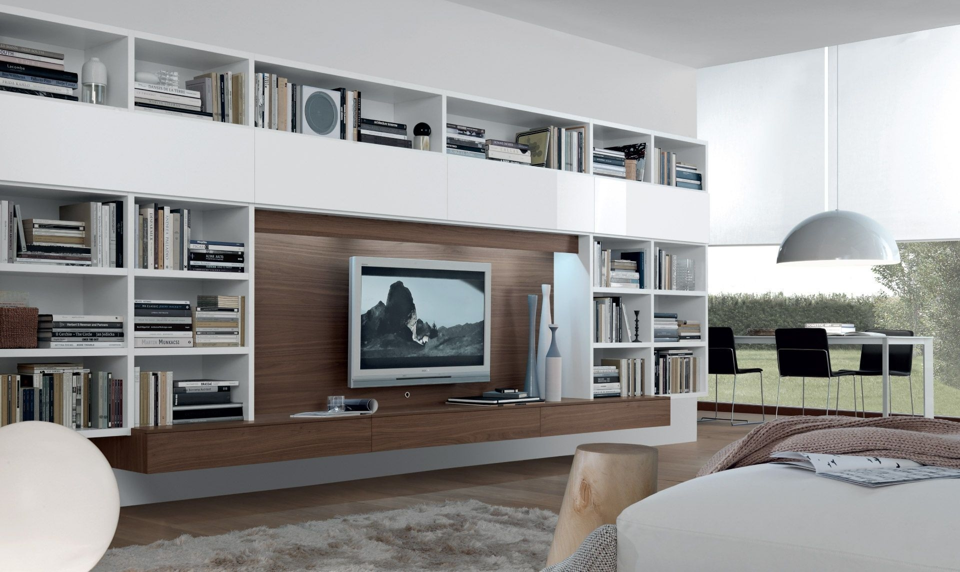 15 Best Collection Of Bookcase Tv Unit