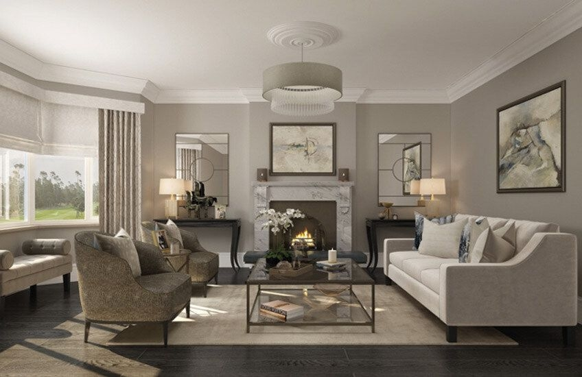 15 Grey Living Room Ideas  Grey Lounge Colour Schemes  Luxdeco