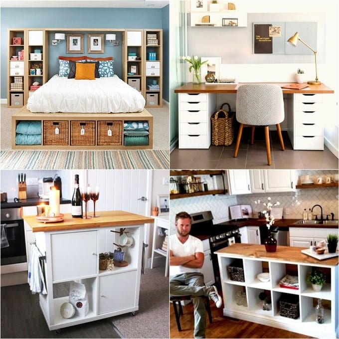 20 Smart And Gorgeous Ikea Hacks   Great Tutorials   A Piece Of Rainbow