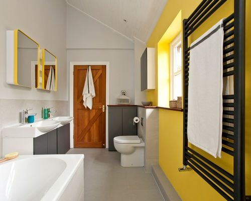 24 Yellow Bathroom Ideas  Inspirationseek