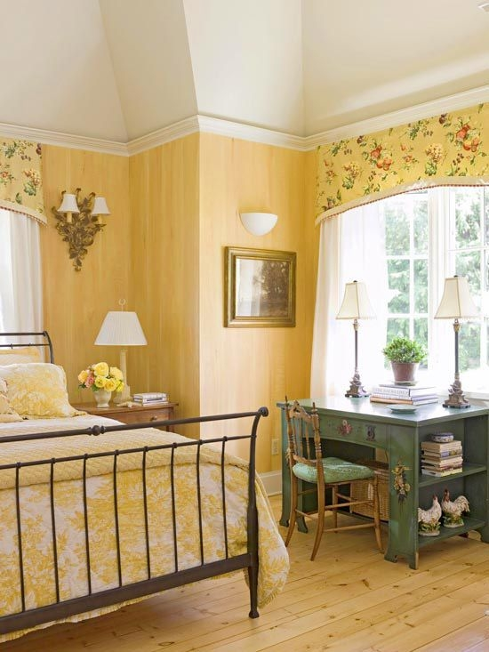 30 Beautiful Yellow Bedroom Design Ideas  Decoration Love