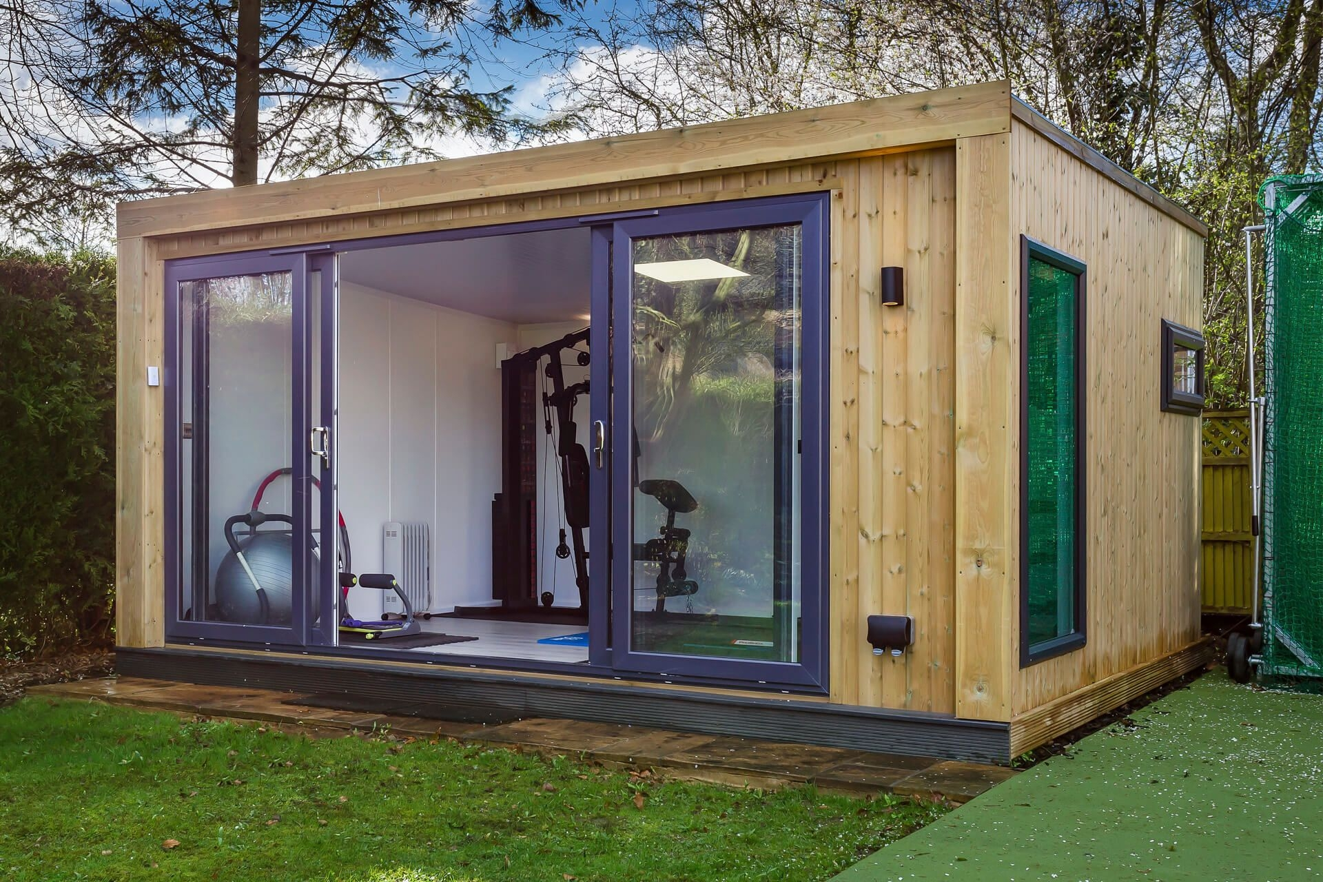 45M X 35M Family Home Gym  Green Retreats