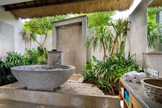 50 Amazing Tropical Bathroom Décor Ideas  Digsdigs