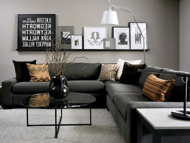 55 Latter Home Decor Ideas Black  Black Sofa Living Room Living Room Color Schemes Living