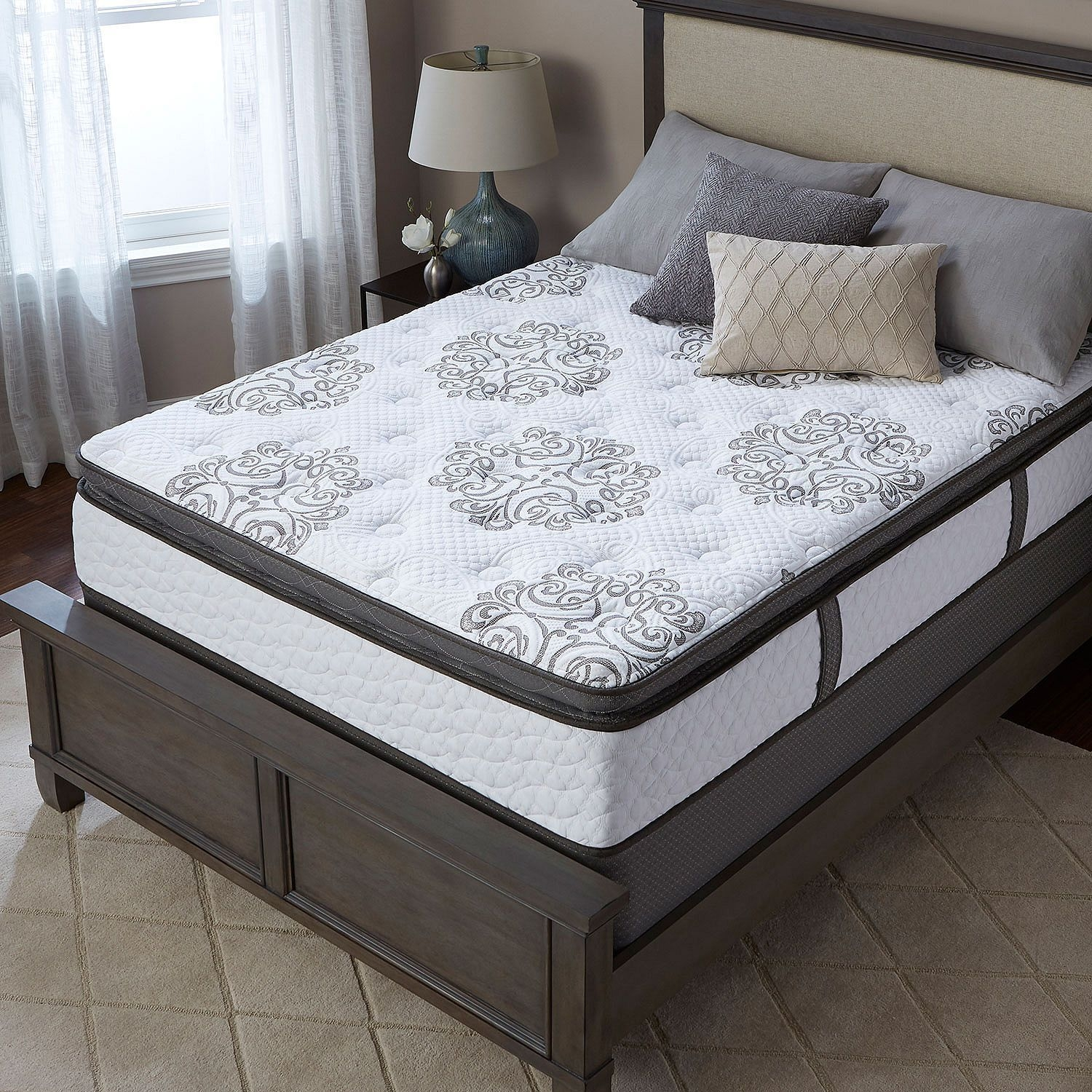 69800 Serta Perfect Sleeper Hillgate Ii Cushion Firm Super Pillowtop California King Mattress