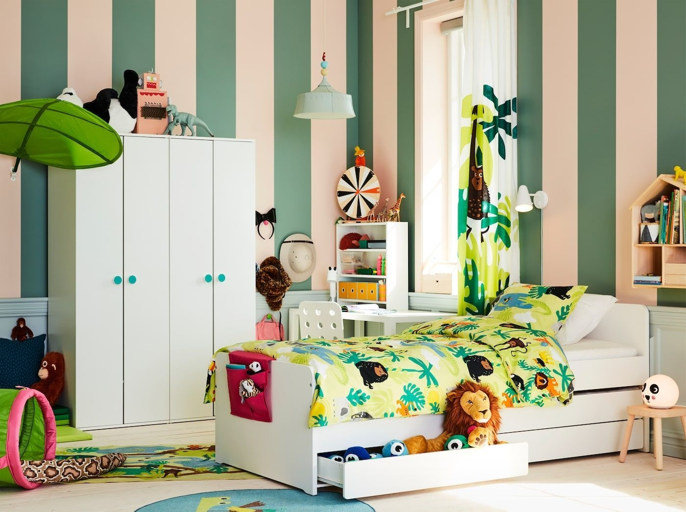 A Children'S Room Jungle  Childrens Bedroom Furniture Room Ikea