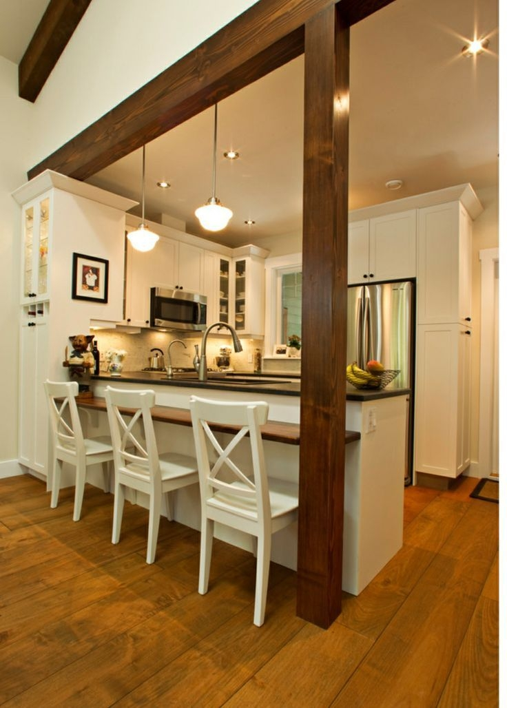 A Kitchen Peninsula Is A Great Addition To An Open Kitchen And Dining Combo  Open Kitchen And