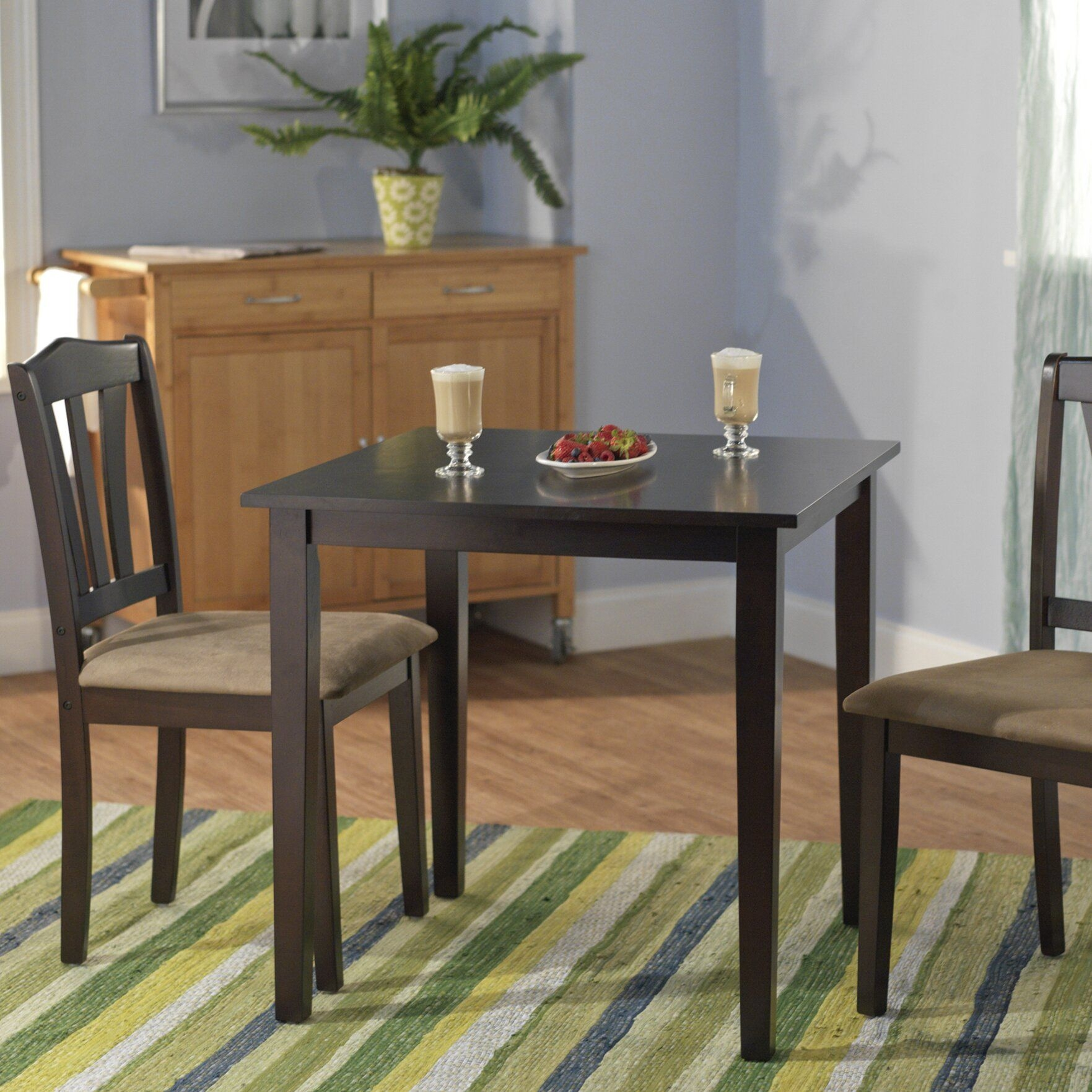 Alcott Hill Dinah 3 Piece Dining Set  Reviews  Wayfair