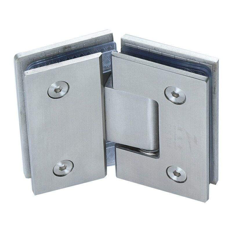 Aliexpress  Buy Bath Shower Door Brushed Glass 135 Degree Hinge 304 Stainless Steel