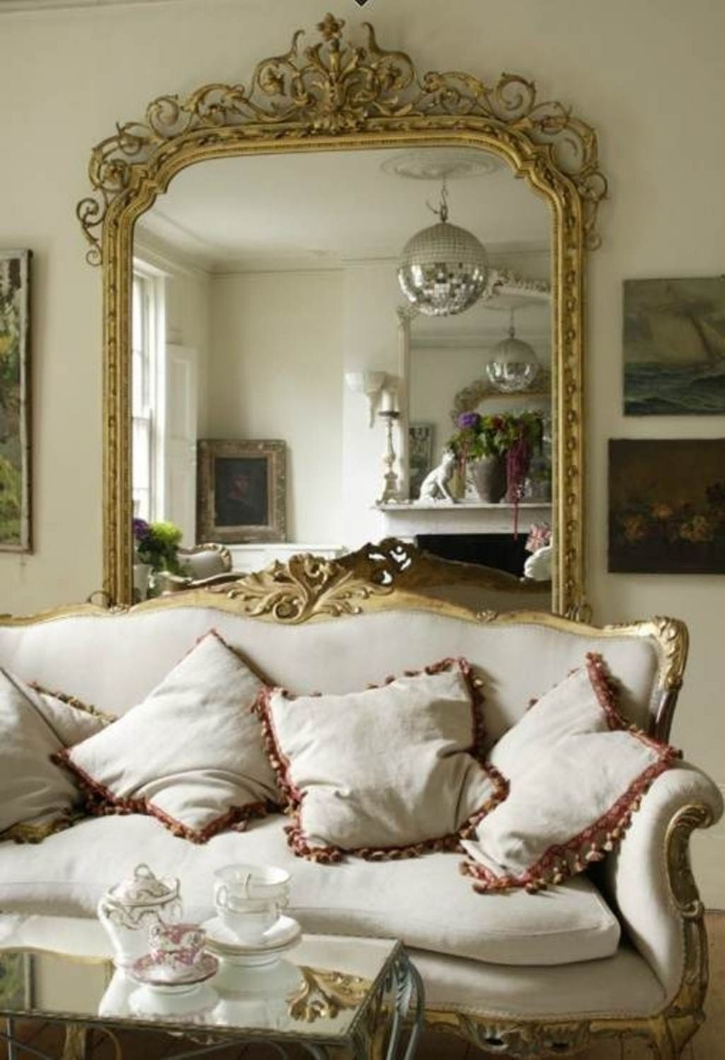 Artistic Framed Mirror'S For The Living Room