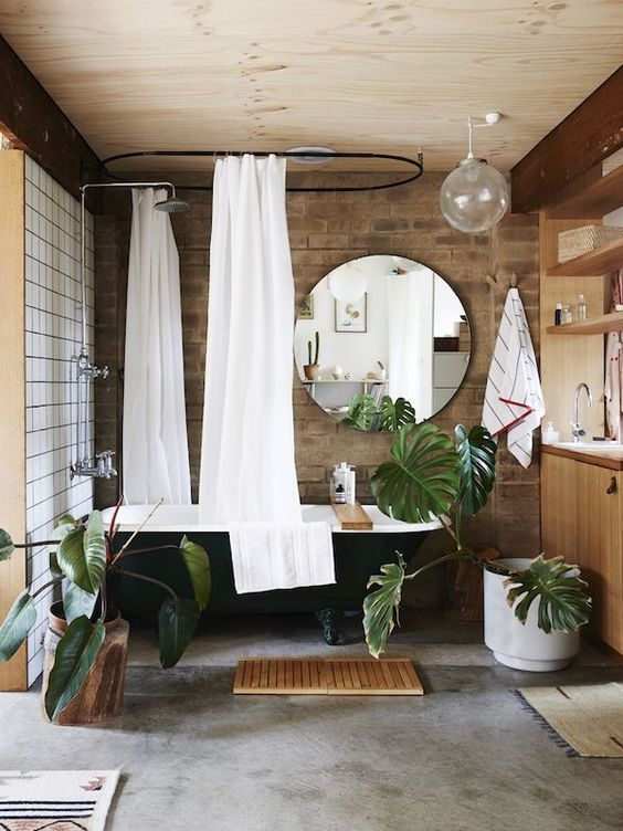 Bathroom Decor Crush The Black Bath Tub