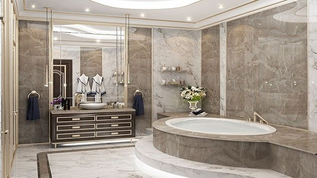 Bespoke Bathroom Design In Dubailuxury Antonovich Design