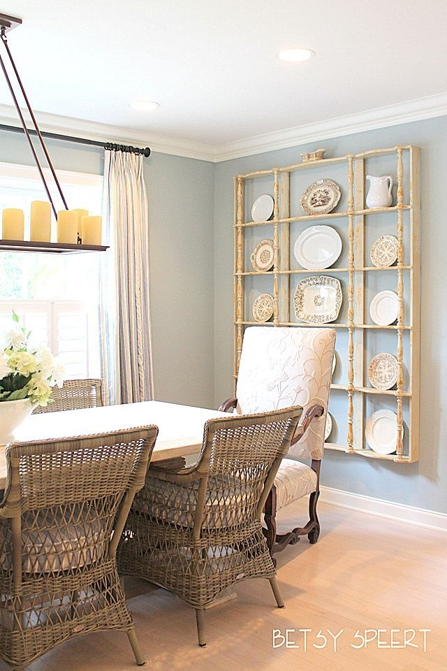 Betsy Speert'S Blog Adding Fabric To Connie'S Eating Area  Decor In 2019  Home Decor Sites