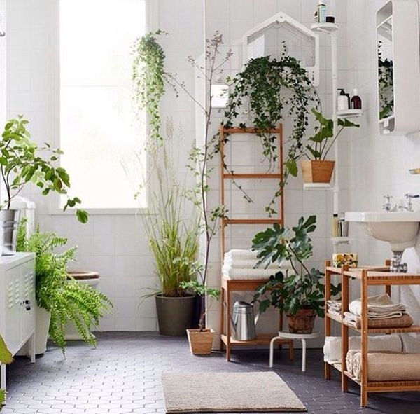 Bohemianbathroomplantdecor – Homemydesign