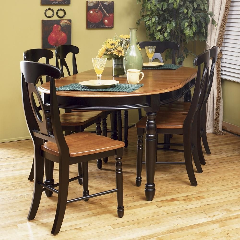 British Isles 7Pc Dinetteaamerica  Solid Wood Dining Table Vintage Dining Room Dinette Sets