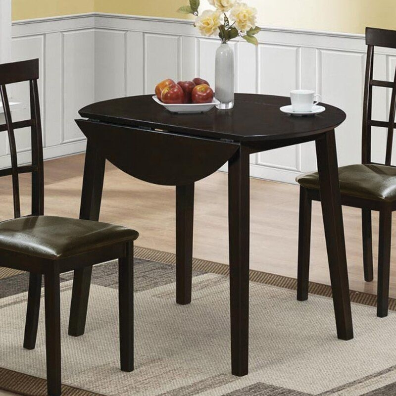 Charlton Home Drop Leaf Dining Table  Reviews  Wayfairca