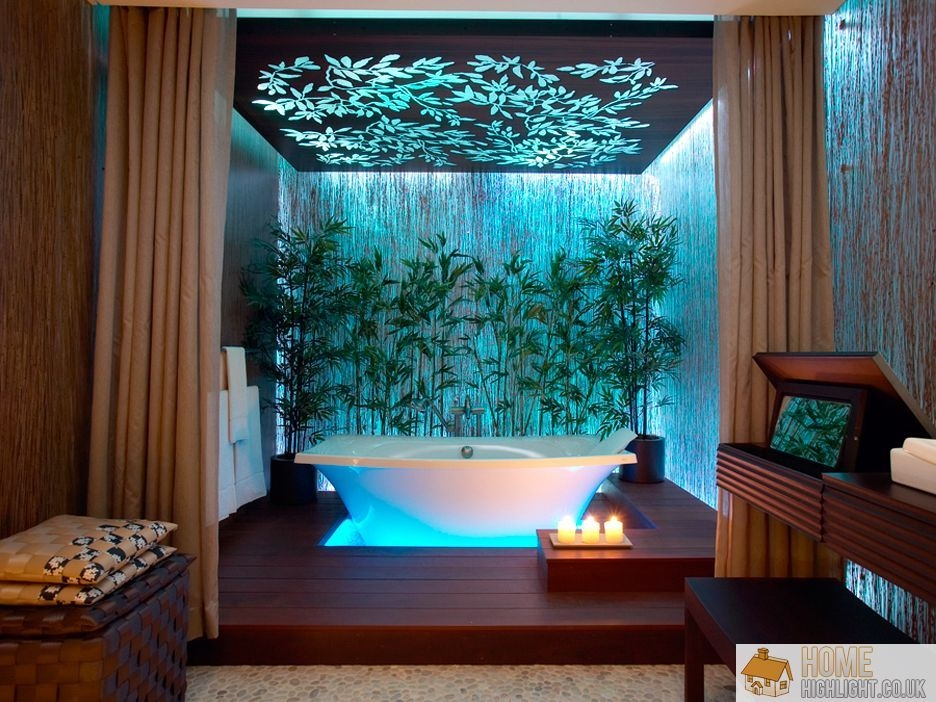 Check Out These 10 Eyecatching Tropical Bathroom Ideas 》 Her Beauty