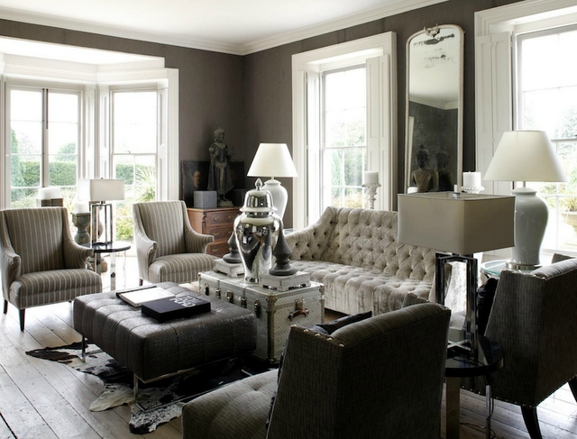 Color Outside The Lines Gray And White Living Rooms
