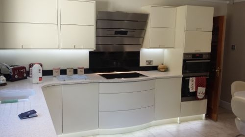 Contemporary Kitchens From Cumbria Kitchen  Bedroom Furniture