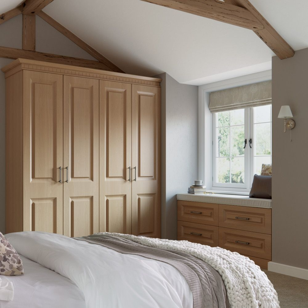 Danbury Lissa Oak Bedroom At Kitchens Direct From The Ethos At Choose Style Range  Traditional