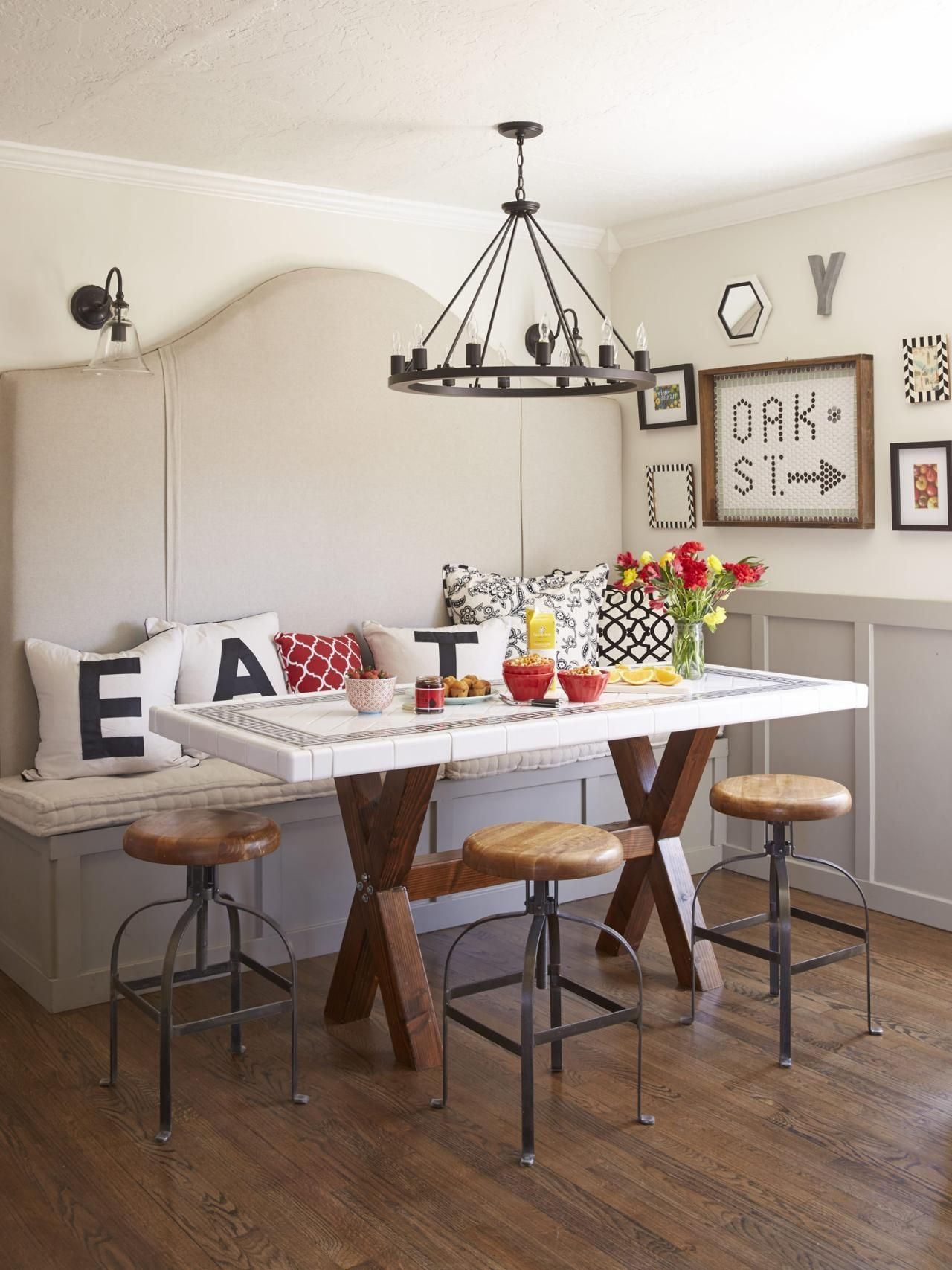 Decorating With A Black White And Red Color Palette  Interior Design Styles And Color Schemes