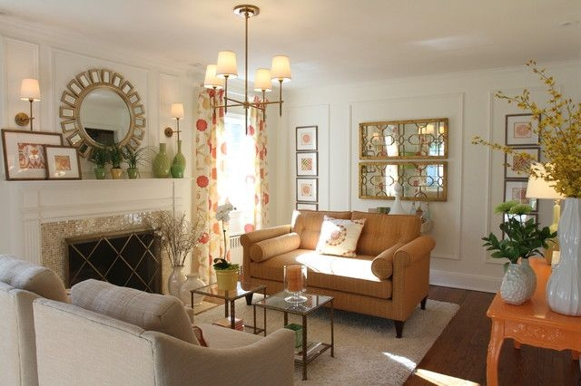 Decorative Wall Mirrors For Living Room Which Makes The Space Wider  Housebeauty