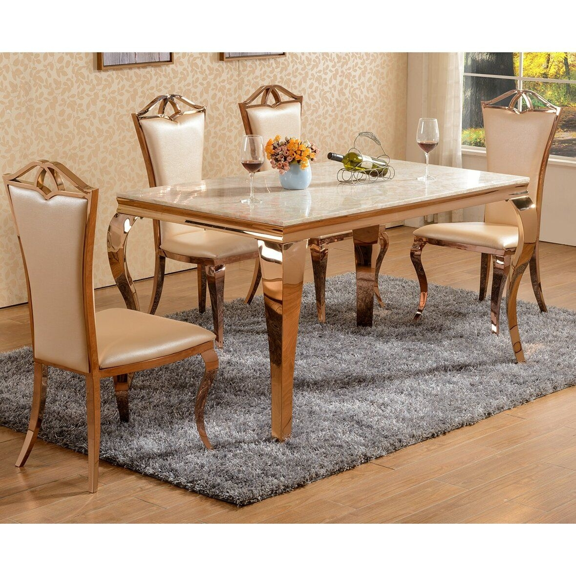 Derry'S Julia Dining Table And 6 Chairs  Wayfair Uk
