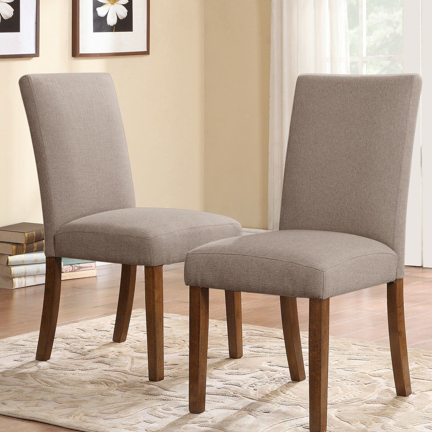 Dorel Living Parsons Chair  Reviews  Wayfair