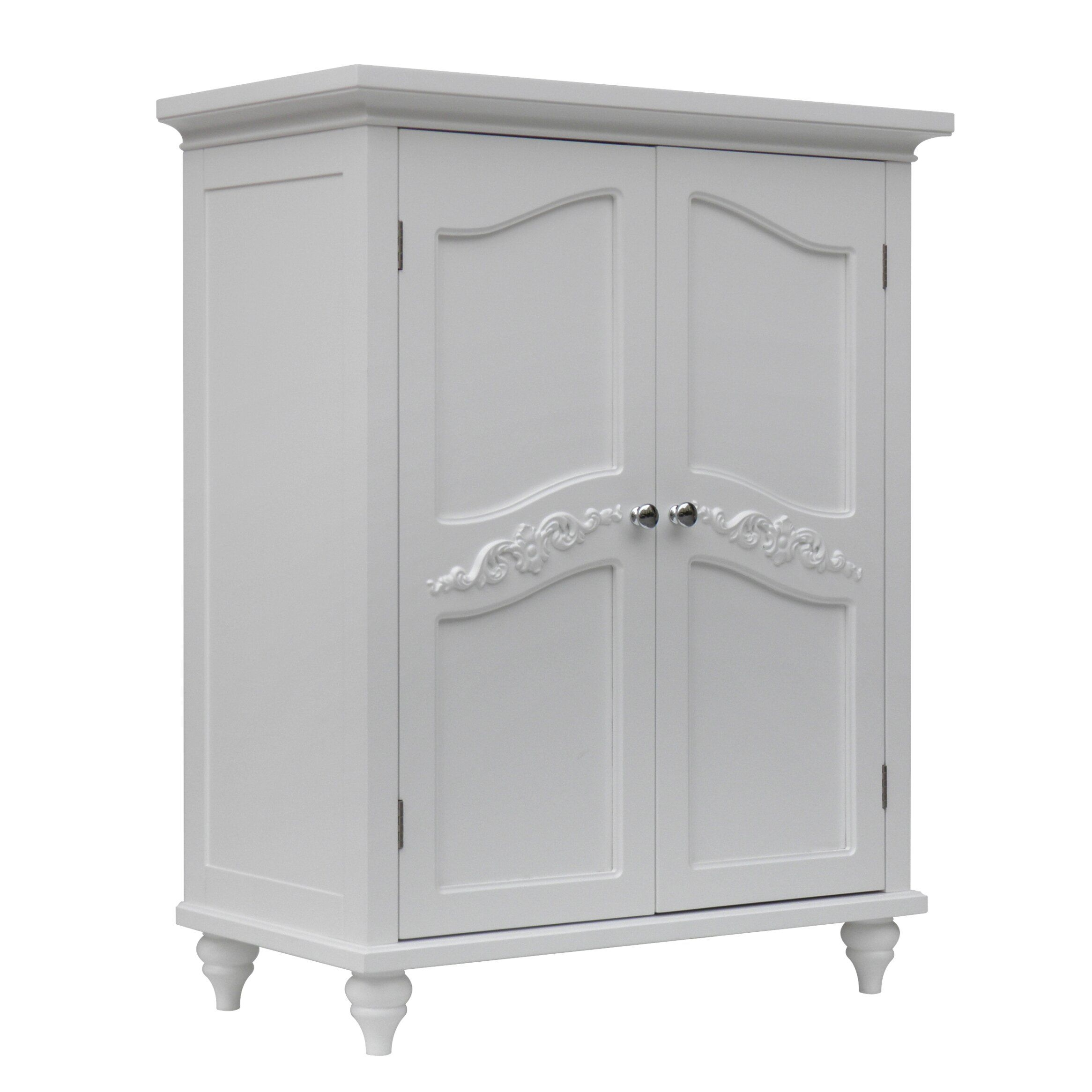 "Elegant Home Fashions Versailles 27"" X 34"" Free Standing Cabinet  Reviews  Wayfair"