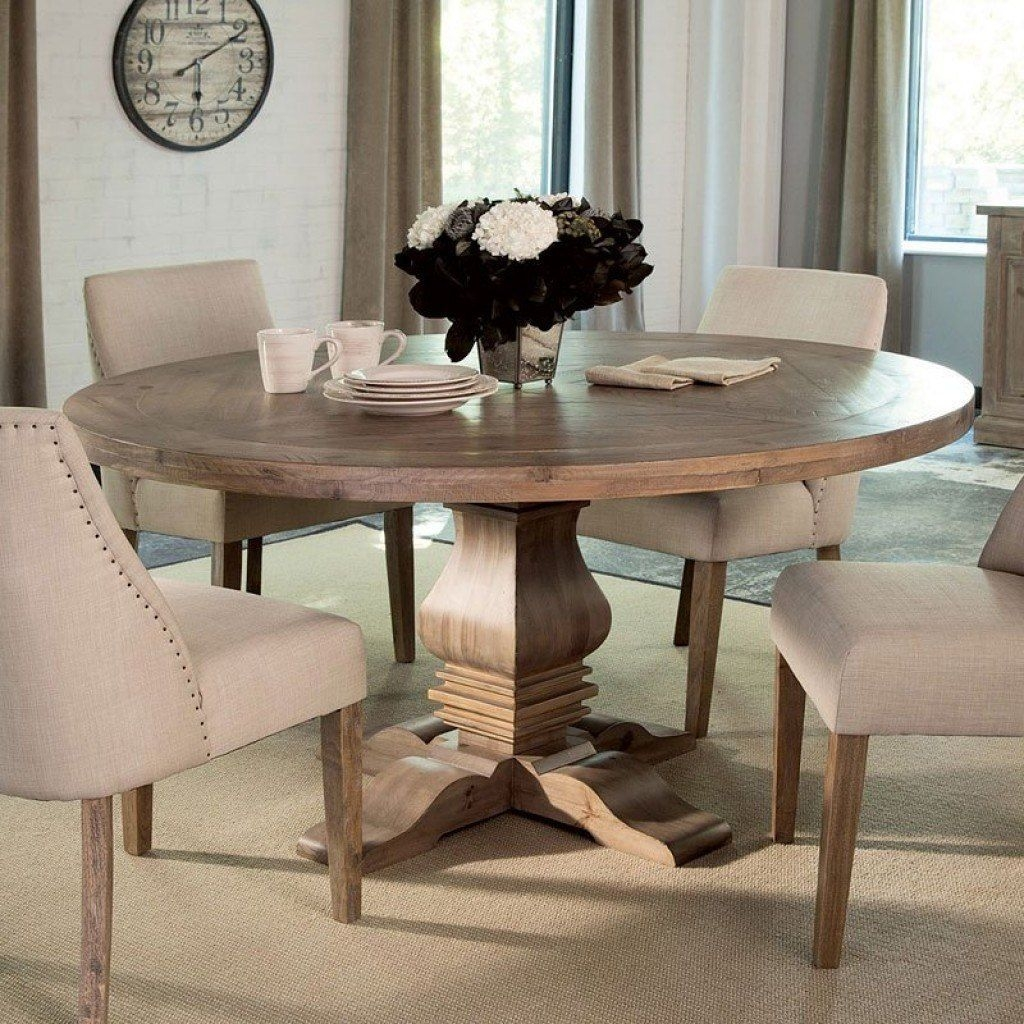 Florence Round Dining Table Coaster Furniture  Furniture Cart