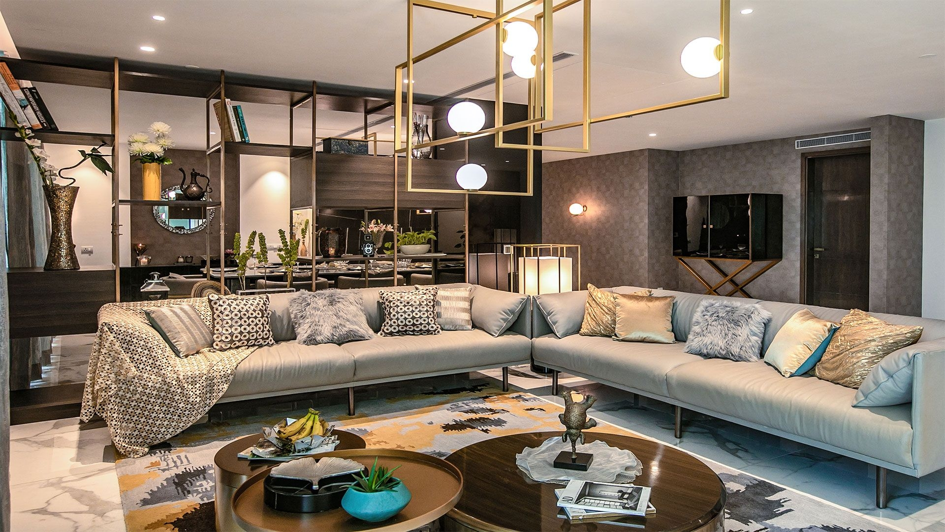 Gurgaon This Penthouse Follows The Principles Of Clean Understated Luxury
