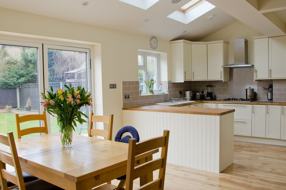 Home Extension Loft Conversion And Refurbishment Picture Gallery  Open Plan Kitchen Diner