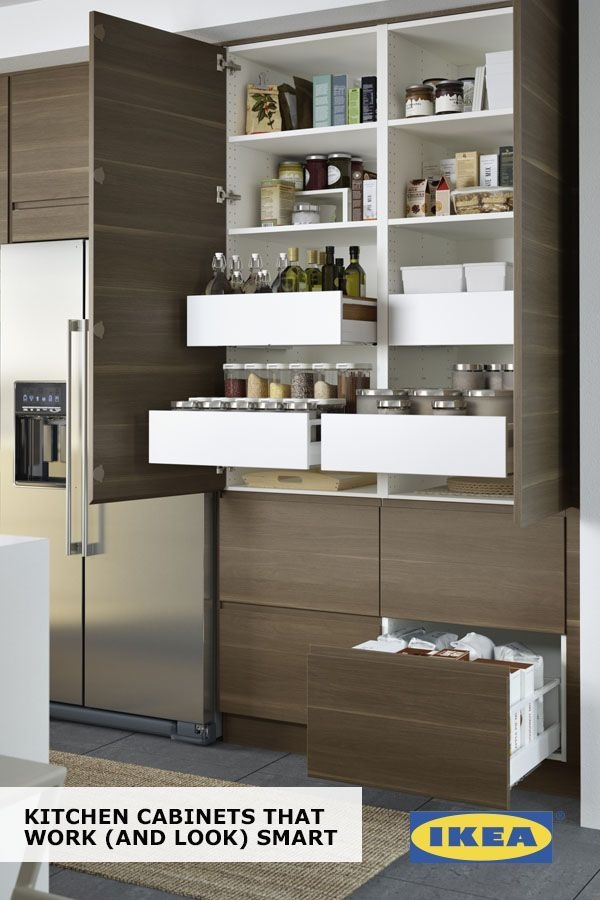 Ikea Sektion Cabinets Help You Find A Space For Everything In Your Kitchen Drawers Within