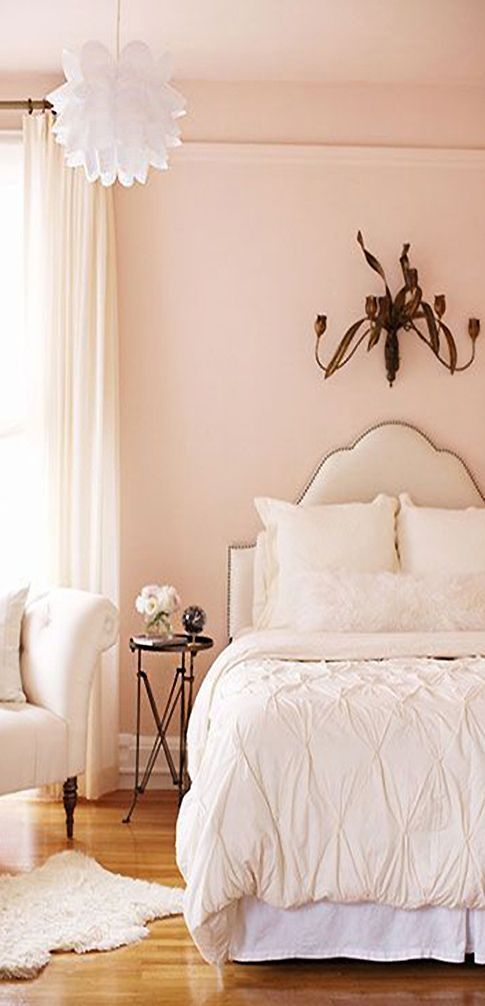 Inspired Palette 14  Blush  Gold  Cynthia Reccord  Peach Bedroom Home Bedroom Pink Living