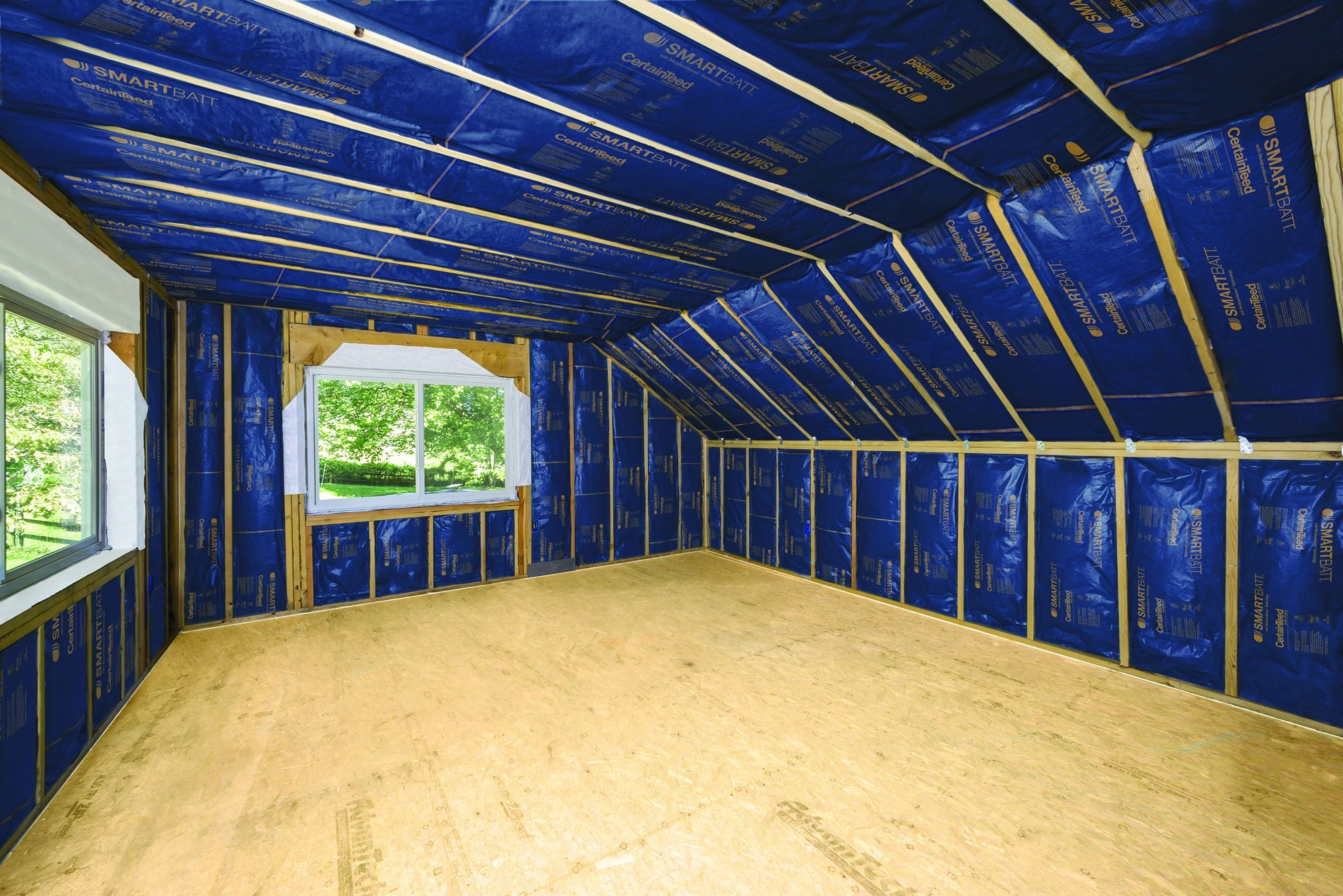 Insulation With A Smart Vapor Barrier  Jlc Online