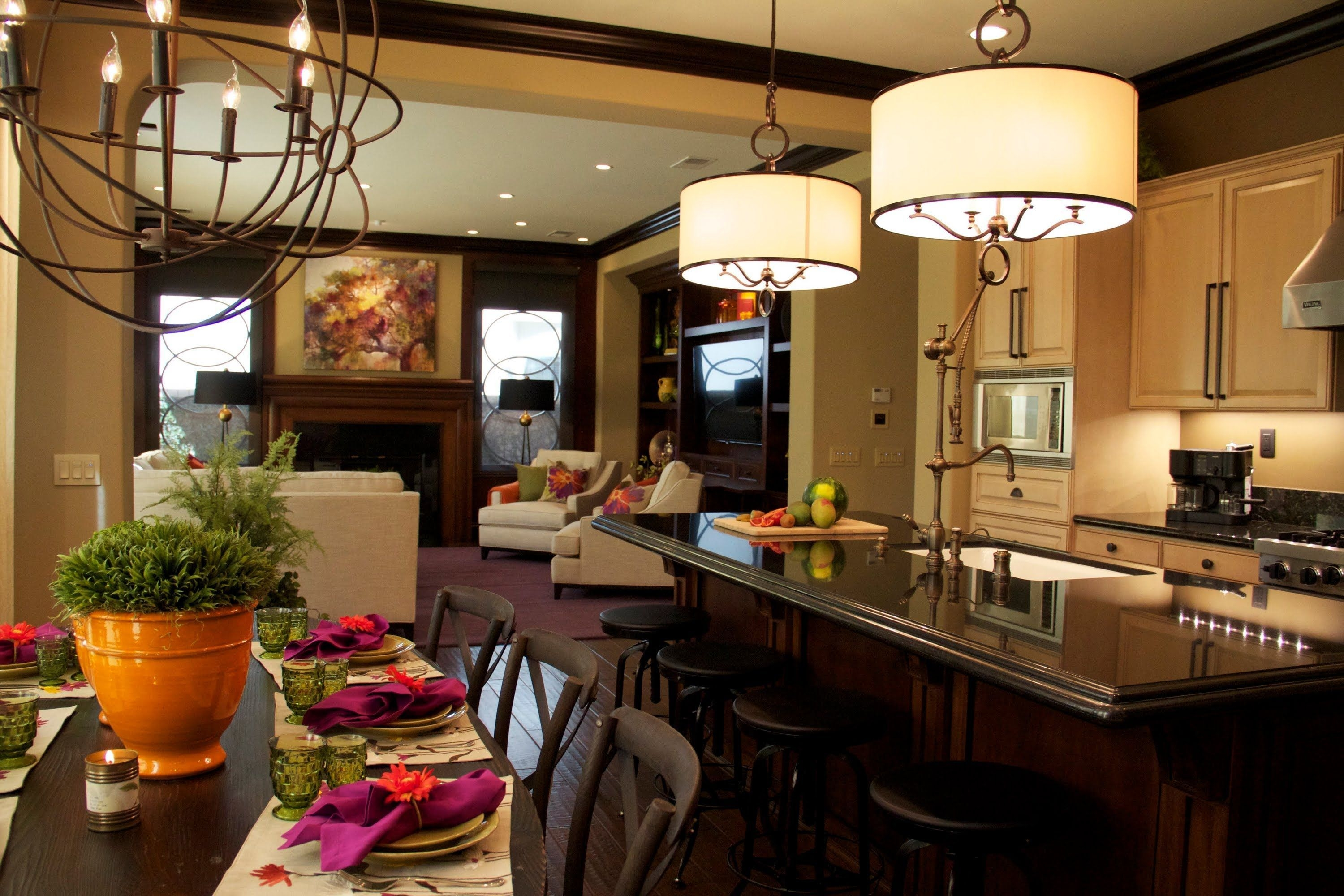Interior Design Kitchen Family Room Home Revealrobeson Design I Loooove The Colors Of The