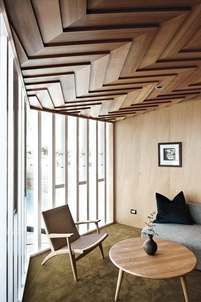Interior Design Trend Statement Ceilings  House Ceiling Design Wooden Ceiling Design False