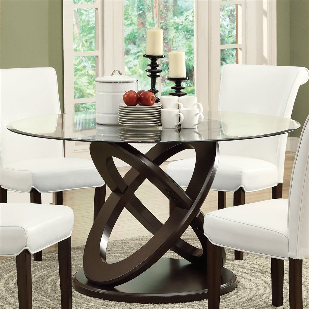 Joanne Glass Dining Table Elegant And Classic Dining Tables  Modgsi Richmond Furniture
