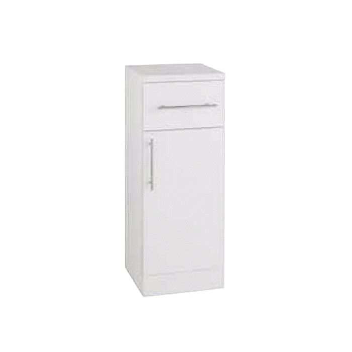 Kartell Impakt 250 X 300Mm White Single Door Base Unit