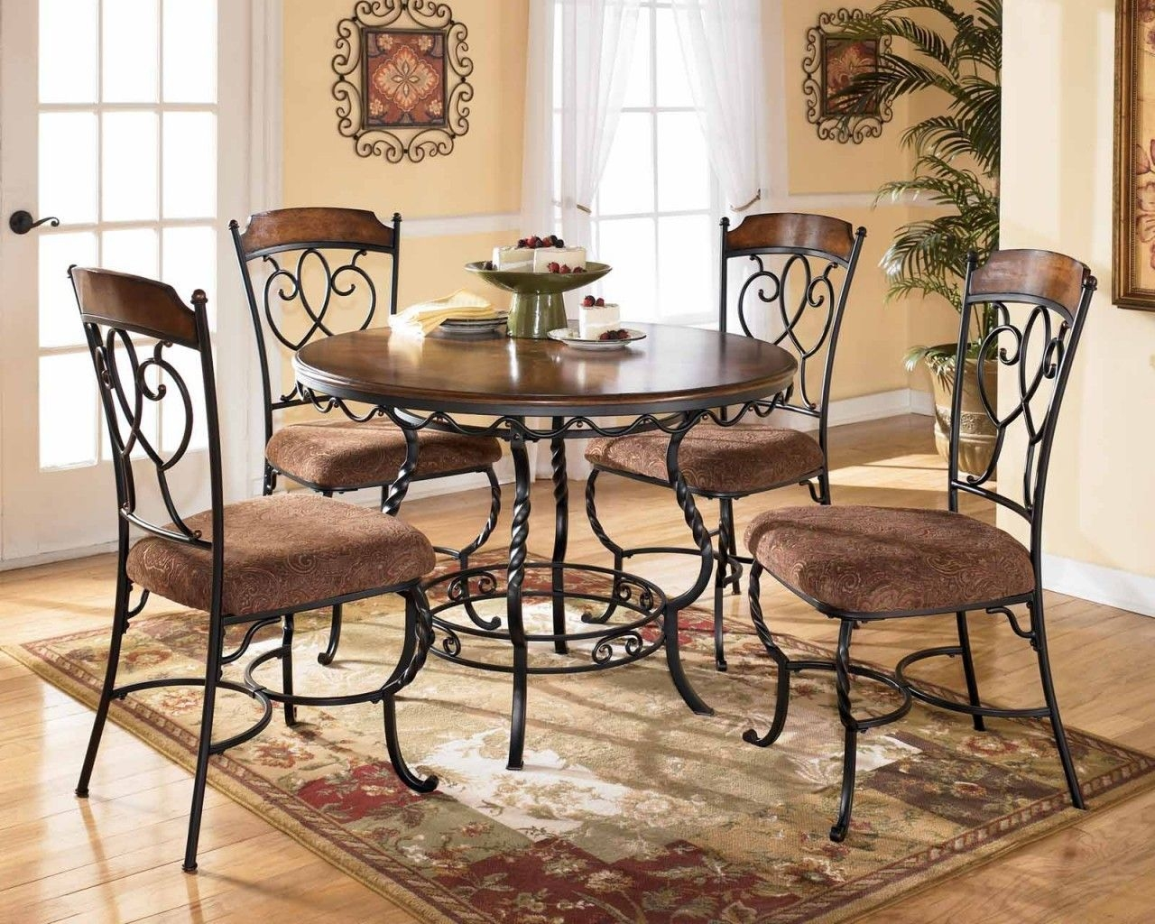 Kitchen Tables And Chairs Sets   Table Dining Chairs With Cushion Fabric For Macy Kitchen