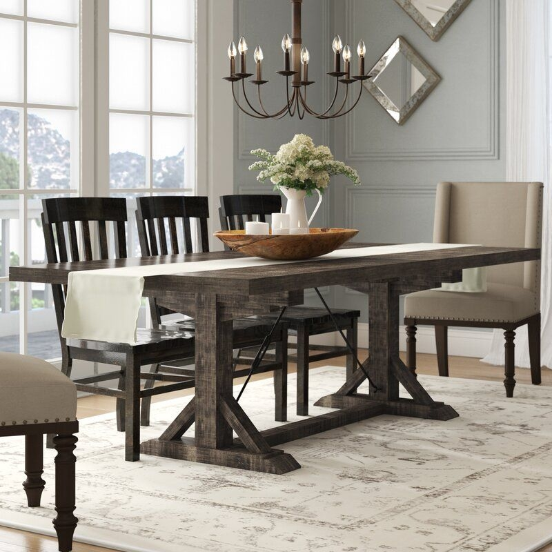 Laurel Foundry Modern Farmhouse Mcwhorter Extendable Dining Table  Reviews  Wayfair