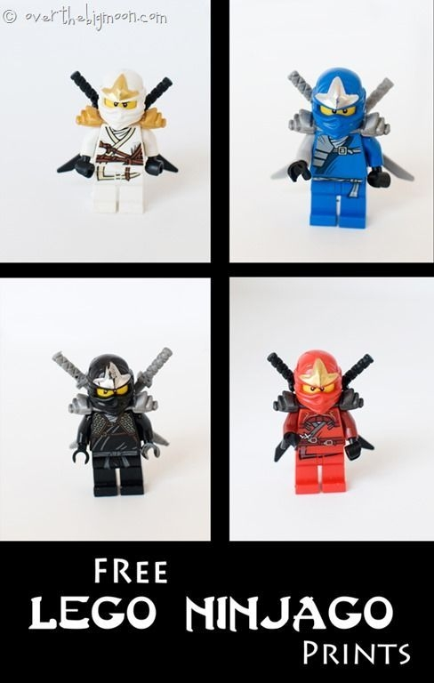 Lego Ninjago Free Art Printables  Lego Wall Art Lego Room Free Printable Art