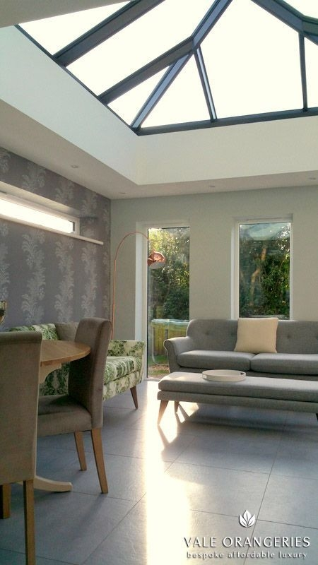Located In A Beautiful Village Our Larches Vale Orangery Measures 43M X 45M Replacing A Le