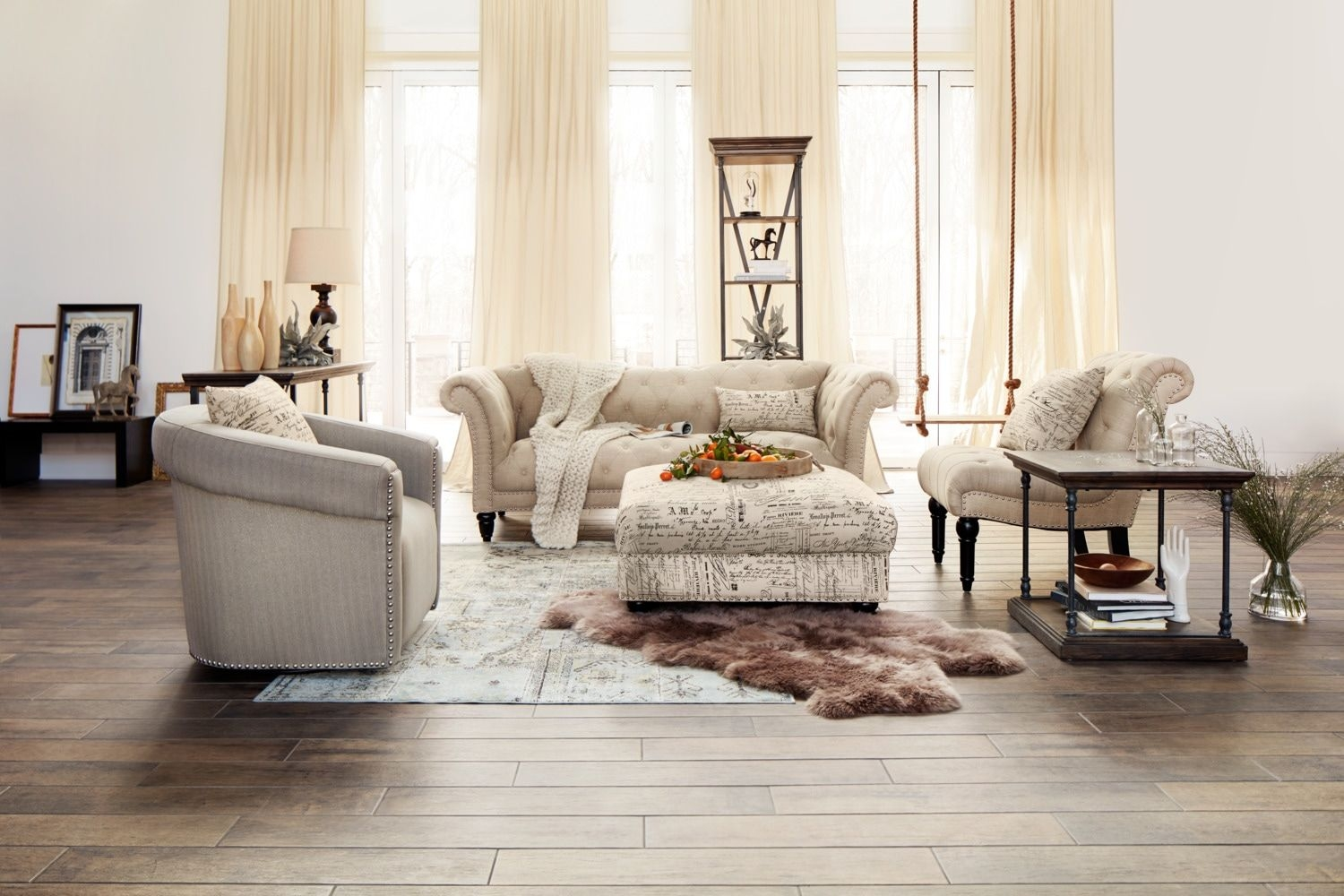 Marisol Sofa  Beige  American Signature Furniture