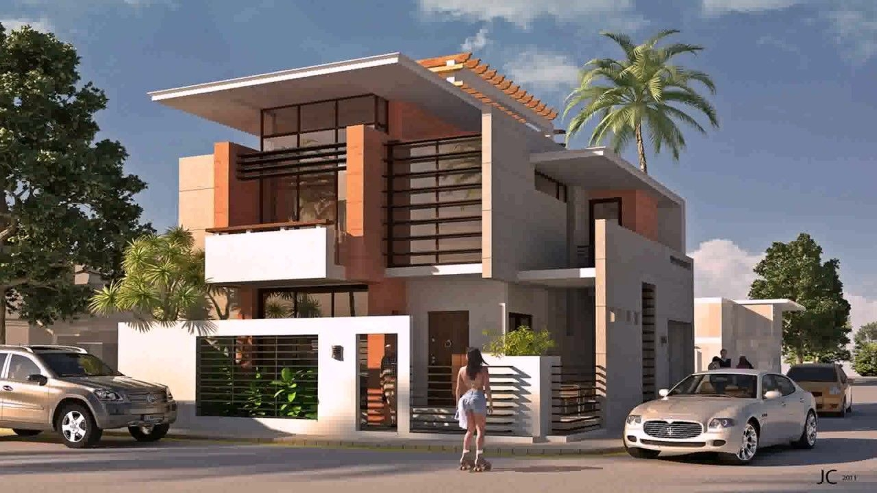 Modern Exterior House Design In The Philippines See Description  Youtube