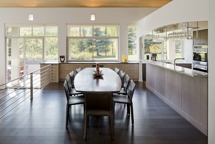 Modern Kitchen  Dining Room Design  Modern Kitchen Center