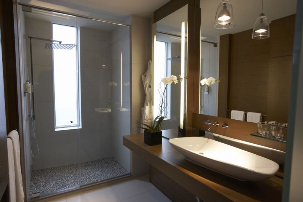 Modern Lodge Bathroom Ideas  Iroonie